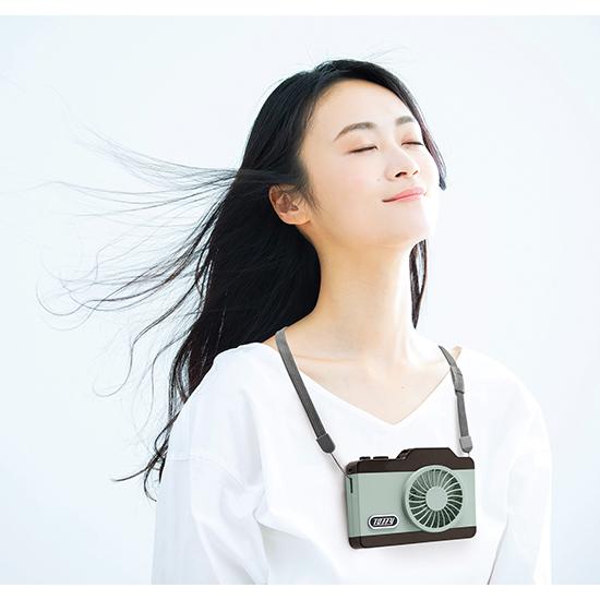 [Toffy]LEDハンズフリーカメラファン