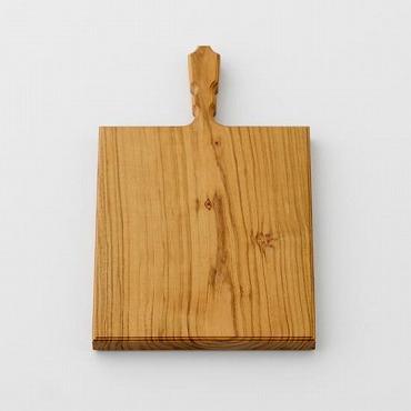 [woodpecker]山桜のカッティングボード 角