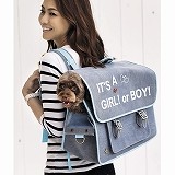 [ducie]2way キャリーバッグ It's a girl!or boy! Bag