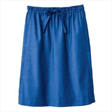 優待価格[Harriss]ウエストゴムのドロストスカート