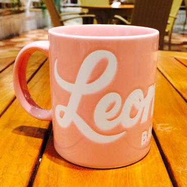 [Leonard's]オリジナルマグカップ/ピンク