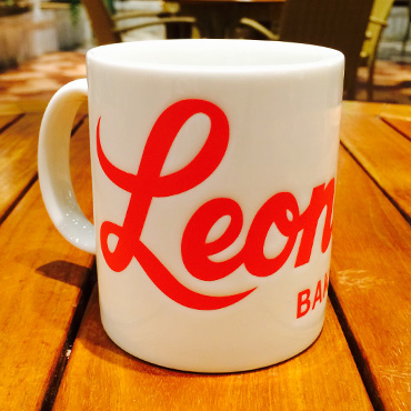 [Leonard's]オリジナルマグカップ/ホワイト